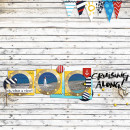 Beach Digital Scrapbook Page by Farrahjobling using Project Mouse (At Sea): Bundle by Britt-ish Designs & Sahlin Studio