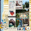 Storybook Scenes Digital Scrapbook Page by justine using Project Mouse (At Sea): Bundle by Britt-ish Designs & Sahlin Studio