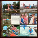 Summer Project Life page by kristasahlin featuring Project Mouse (At Sea): Elements by Britt-ish Designs and Sahlin Studio