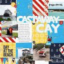 Castaway Cay Digital Scrapbook Page by melinda using Project Mouse (At Sea): Bundle by Britt-ish Designs & Sahlin Studio