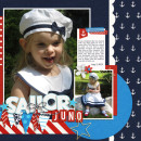 Sailor Digital Scrapbook right Page by melissa using Project Mouse (At Sea): Bundle by Britt-ish Designs & Sahlin Studio