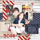 Everyday Digital Scrapbook Page by mikinenn using Project Mouse (At Sea): Bundle by Britt-ish Designs & Sahlin Studio