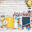 Paradise Digital Scrapbook Page by raquels using Project Mouse (At Sea): Bundle by Britt-ish Designs & Sahlin Studio
