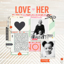 Digital Scrapbooking Layout by Tronesia using Worth A Thousand Words by Sahlin Studio