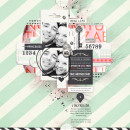 True Love Digital Scrapbooking Layout by justagirl using Worth A thousand Words by Sahlin Studio