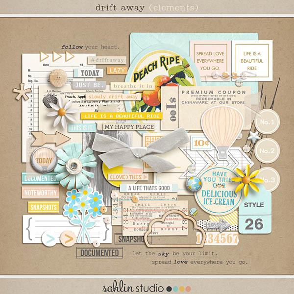 drift away (elements) by sahlin studio