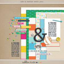 life is better with you (mini-kit) by sahlin studio