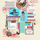 digital scrapbooking layout created by gonewiththewind featuring Aztec Summer by Sahlin Studio