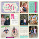 project life layout created by rlma featuring Aztec Summer by Sahlin Studio
