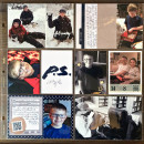 Project Life page by kristasahlin using P.S. I Love You (Kit) by Sahlin Studio