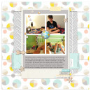 Digital Scrapbook Page by ctmm4 using Drift Away Kit by Sahlin Studio