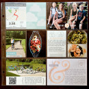 Project Life page by kristasahlin using Drift Away Kit by Sahlin Studio