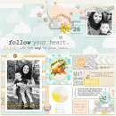 Digital Scrapbook Page by raquels using Drift Away Kit by Sahlin Studio