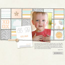 Digital Scrapbook Page by toriloowho using Drift Away Kit by Sahlin Studio