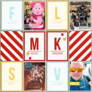 Disney Magic Kingdom Digital Project Life Page by SirScrapalot featuring Project Mouse Alphabet Cards by Britt-ish Designs and Sahlin Studio