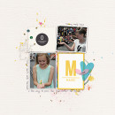 Magic Digital Scrapbook Page by ashleywb featuring Project Mouse Alphabet Cards by Britt-ish Designs and Sahlin Studio