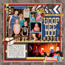 "Disney HoopDeeDoo Digital scrapbook layout by cindys732003b featuring ""Project Mouse: Frontier"" by Britt-ish Designs and Sahlin Studio"