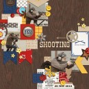 """Shooting range digital page by erica featuring """"Project Mouse: Frontier"""" by Britt-ish Designs and Sahlin Studio"""