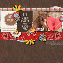"Horse Love digital page by natasha featuring ""Project Mouse: Frontier"" by Britt-ish Designs and Sahlin Studio"