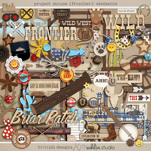 Project Mouse (Frontier): Elements by Britt-ish Designs and Sahlin Studio - Perfect for scrapbooking / project life your magical memories from Frontierland at DisneyProject Mouse (Frontier): Elements by Britt-ish Designs and Sahlin Studio - Perfect for scrapbooking / project life your magical memories from Frontierland at DisneyProject Mouse (Frontier): Elements by Britt-ish Designs and Sahlin Studio - Perfect for scrapbooking / project life your magical memories from Frontierland at Disney