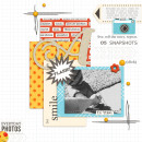 Everyday Photo digital scrapbook page by askings featuring Flashback by Sahlin Studio