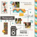Everyday Photos digital scrapbook page by dotcomkari featuring Flashback by Sahlin Studio