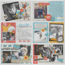 Here and Now Digital Project Life Layout by justagirl featuring Flashback by Sahlin Studio