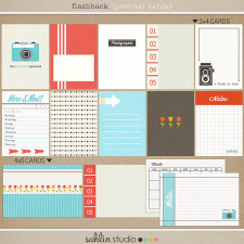 Flashback (Journal Cards) Digital by Sahlin Studio - Perfect for Project Life!