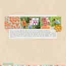 Sunny Memory Digital Scrapbook Page by rlma featuring Hello Sun by Sahlin Studio
