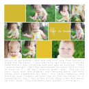 cDigital Scrapbook Page by brendasmith featuring Paint Swatch Templates by Sahlin Studio
