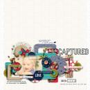Captured digital scrapbook layout by dotcomkari featuring Documentary by Sahlin Studio