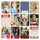 digital pocket scrapbooking layout by rlma featuring Documentary by Sahlin Studio