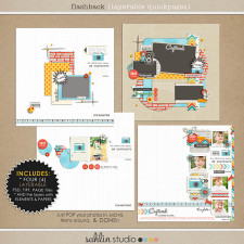 Flashback (Layered QuickPages) by Sahlin Studio
