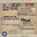 Project Mouse (Tomorrow): Photo Overlays Word Art by Britt-ish Designs & Sahlin Studio - Perfect for Disney Tomorrowland, Space Mountain, Monsters Inc