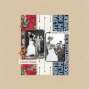 Wedding digital scrapbook layout by EHStudios featuring Documentary by Sahlin Studio