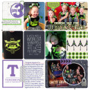 Tomorrowland digital Project Life page by Britt featuring Project Mouse (Tomorrow) by Britt-ish Designs and Sahlin Studio
