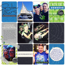 Tomorrowland - Star Wars digital Project Life page by Britt featuring Project Mouse (Tomorrow) by Britt-ish Designs and Sahlin Studio