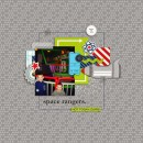 Space Rangers digital scrapbook page by hairica featuring Project Mouse (Tomorrow) by Britt-ish Designs and Sahlin Studio