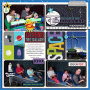 Disneyland TomorrowLand digital pocket scrapbooking page by julieL featuring Project Mouse (Tomorrow) by Britt-ish Designs and Sahlin Studio