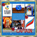 Captain EO digital scrapbook page by tanya featuring Project Mouse (Tomorrow) by Britt-ish Designs and Sahlin Studio