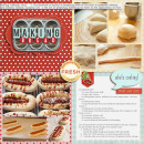 digital scrapbooking recipe layout created by mikinenn featuring the october free template by sahlin studio