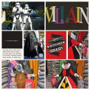 Disney Villains Meet and Greet digital scrapbook page by ctmm4 featuring Project Mouse: Villains (cards & autographs) by Britt-ish Designs and Sahlin Studio
