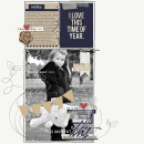 Fall digital scrapbook layout created by KatherineB featuring autumn frost by sahlin studio