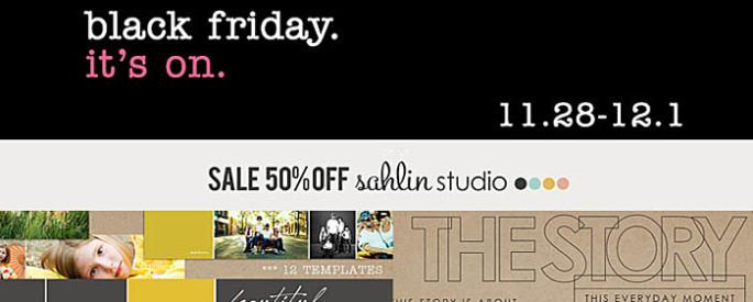 black friday - sahlin studio