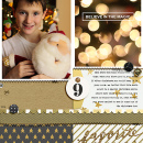 Christmas Holiday scrapbook page by Celeste using Memory Pocket Monthly Subscription | Joy Perfect for using in your Project Life or December Daily album!