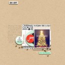 Christmas Holiday digital scrapbook page by margelz using Memory Pocket Monthly Subscription | Joy Perfect for using in your Project Life or December Daily album!