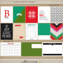 making spirits bright: (journal cards) by sahlin studio Perfect for using in your December Daily or Project Life albums!