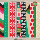 making spirits bright: (papers) by sahlin studio Perfect for using in your December Daily or Project Life albums!