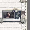 The Best Memory digital scrapbook page by Damayanti featuring Chesterfield Kit by Sahlin Studio
