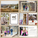 This Is Our Life digital pocket scrapbooking layout by aballen featuring Chesterfield Kit by Sahlin Studio